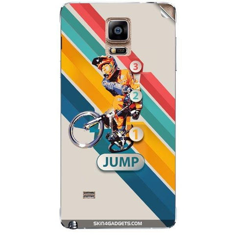 1 2 3 Jump For SAMSUNG GALAXY NOTE 4 (N910) Skin