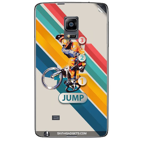 1 2 3 Jump For SAMSUNG GALAXY NOTE EDGE (N915) Skin