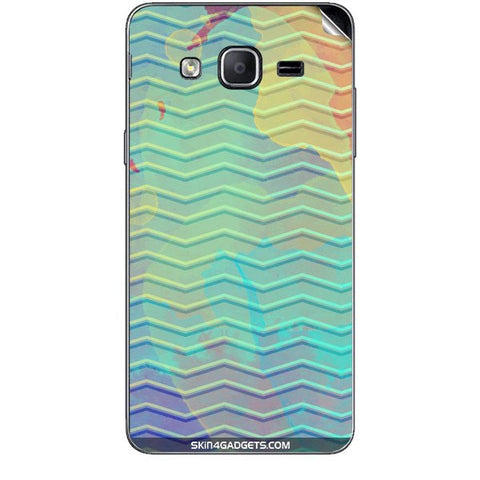 Colourful Waves For SAMSUNG GALAXY ON7 Skin