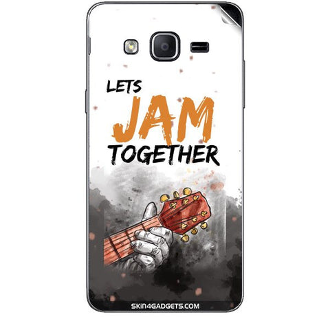 Lets Jam Together For SAMSUNG GALAXY ON7 Skin