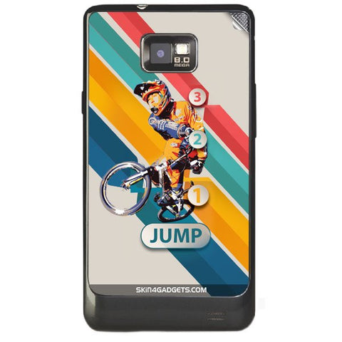 1 2 3 Jump For SAMSUNG GALAXY S2 (I9100) Skin