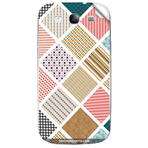 Varied Pattern For SAMSUNG GALAXY S3 (I9300) Skin