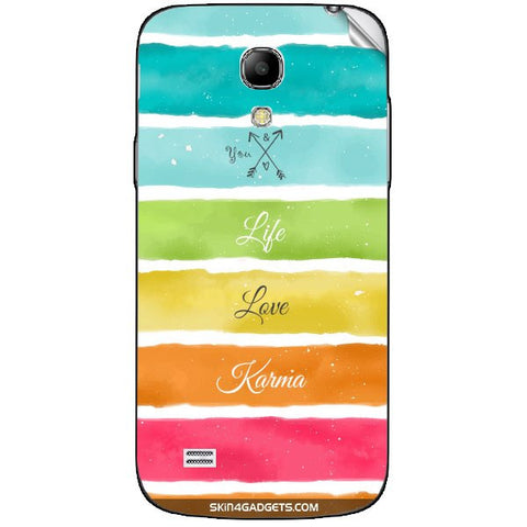 Lets Love Life For SAMSUNG GALAXY S4 MINI (I9190,I91192) Skin