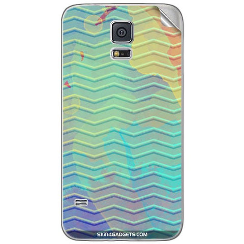 Colourful Waves For SAMSUNG GALAXY S5 MINI Skin