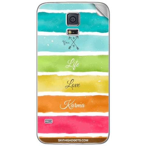 Lets Love Life For SAMSUNG GALAXY S5 MINI Skin