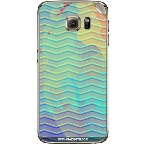 Colourful Waves For SAMSUNG GALAXY S6 (G920I) Skin