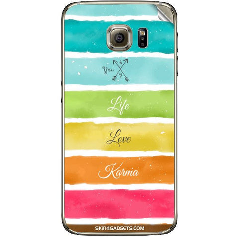 Lets Love Life For SAMSUNG GALAXY S6 (G920I) Skin