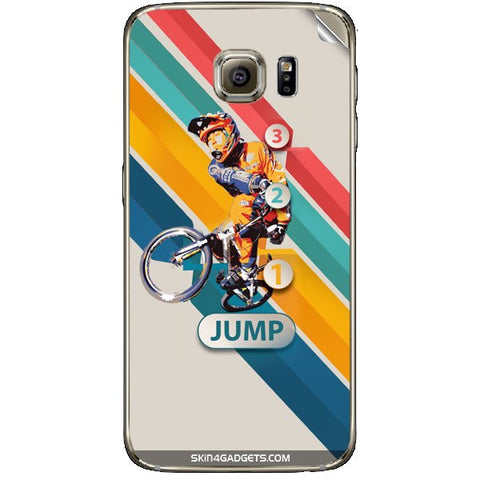 1 2 3 Jump For SAMSUNG GALAXY S6 (G920I) Skin