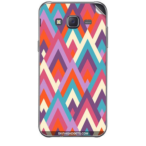 Peaks For SAMSUNG GALAXY J7 Skin
