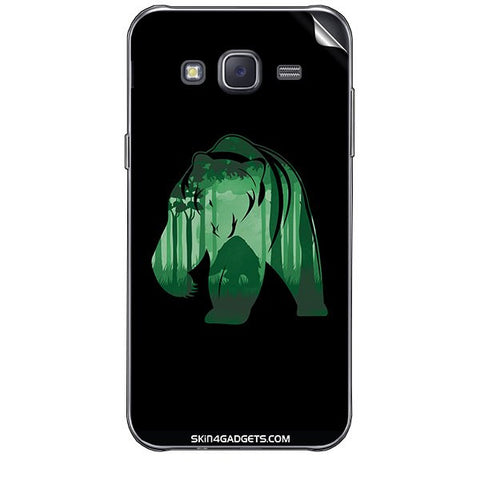 Bear For SAMSUNG GALAXY J7 Skin