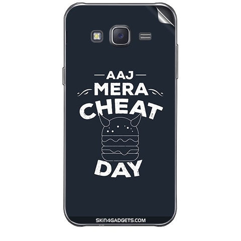Aaj Mera Cheat Day For SAMSUNG GALAXY J7 Skin