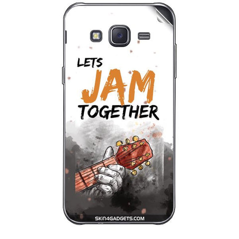 Lets Jam Together For SAMSUNG GALAXY J7 Skin