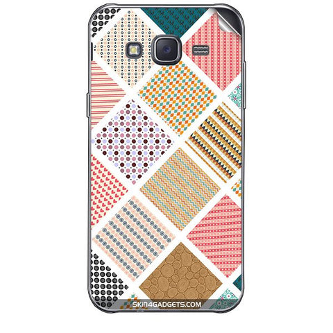 Varied Pattern For SAMSUNG GALAXY J7 Skin