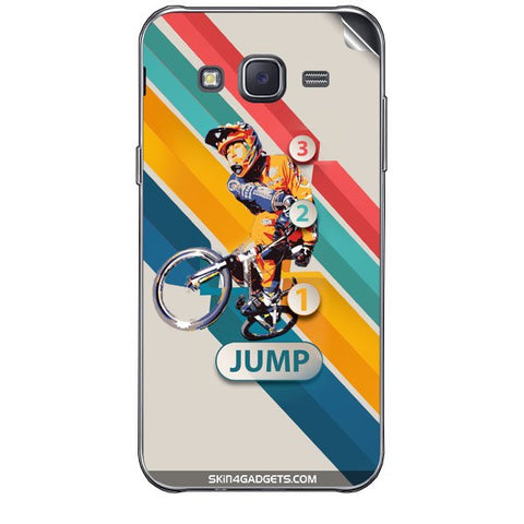 1 2 3 Jump For SAMSUNG GALAXY J7 Skin