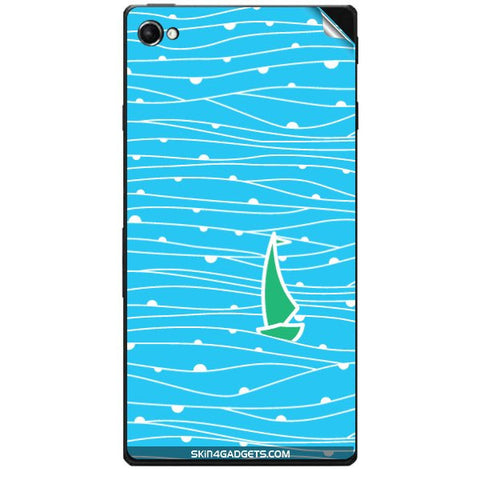 Boat Pattern For SONY XPERIA C3 DUAL  (s55t) Skin
