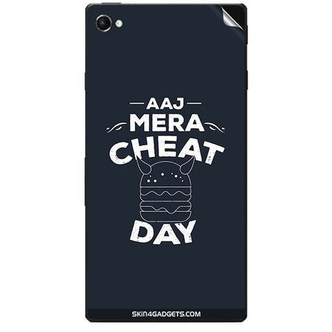 Aaj Mera Cheat Day For SONY XPERIA C3 DUAL  (s55t) Skin