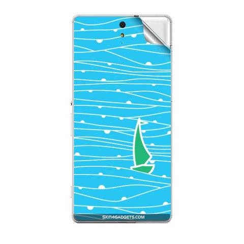 Boat Pattern For SONY XPERIA C5 ULTRA Skin
