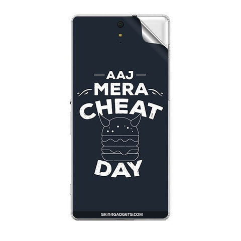 Aaj Mera Cheat Day For SONY XPERIA C5 ULTRA Skin