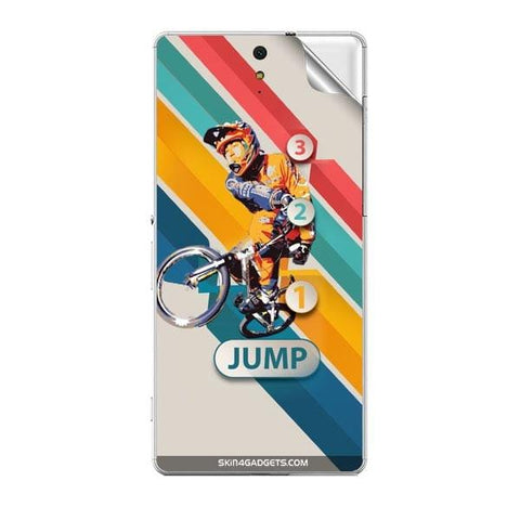 1 2 3 Jump For SONY XPERIA C5 ULTRA Skin