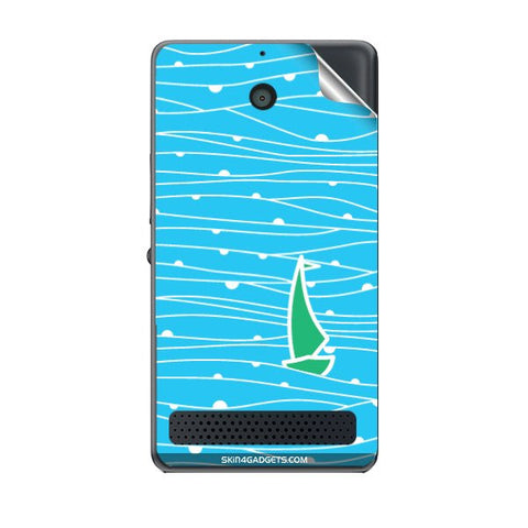 Boat Pattern For SONY XPERIA E1 Skin