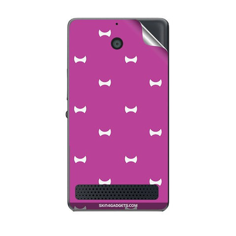 Bow Pattern For SONY XPERIA E1 Skin