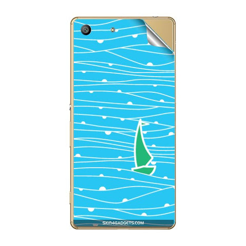 Boat Pattern For SONY XPERIA M5 Skin