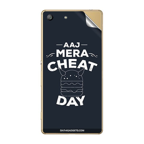 Aaj Mera Cheat Day For SONY XPERIA M5 Skin