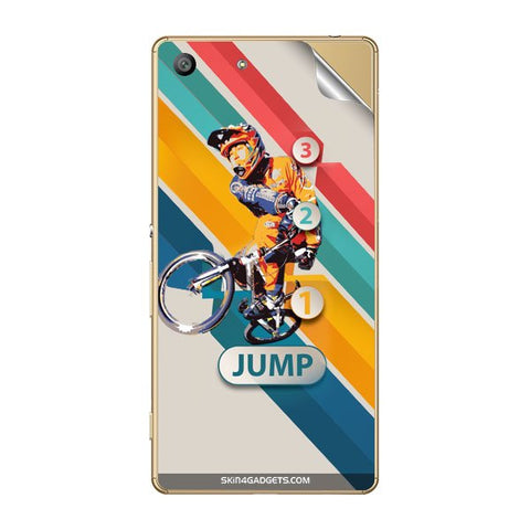 1 2 3 Jump For SONY XPERIA M5 Skin
