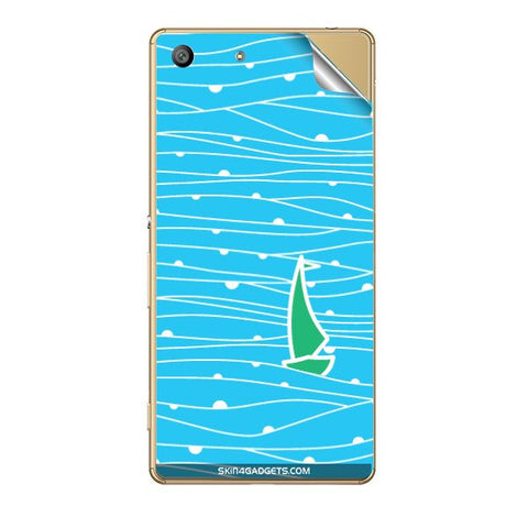 Boat Pattern For SONY XPERIA Z5 DUAL Skin
