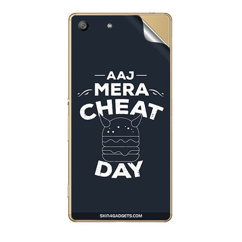 Aaj Mera Cheat Day For SONY XPERIA Z5 DUAL Skin