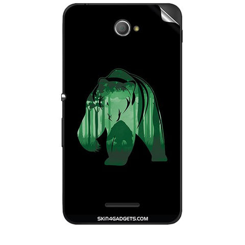 Bear For SONY XPERIA E4 Skin