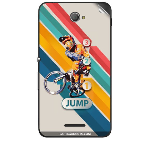 1 2 3 Jump For SONY XPERIA E4 Skin
