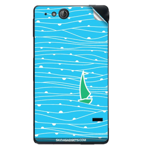 Boat Pattern For SONY XPERIA GO (St27I) Skin