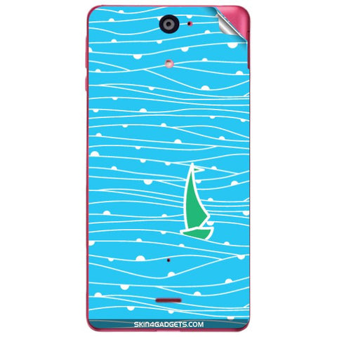 Boat Pattern For SONY XPERIA J (ST26I) Skin