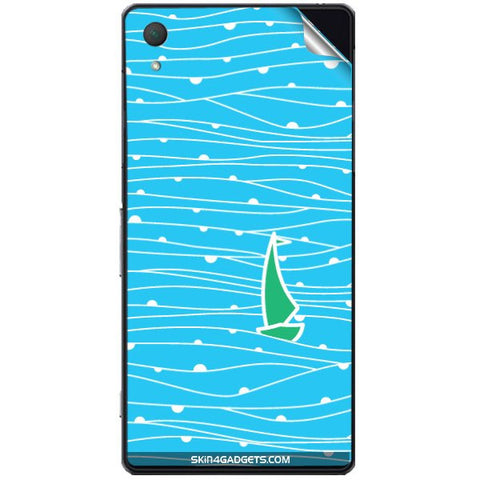 Boat Pattern For SONY XPERIA Z2 (L50w) Skin
