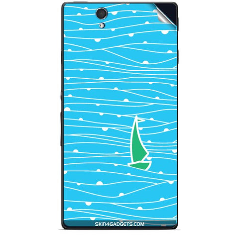 Boat Pattern For SONY XPERIA Z (L36h) Skin