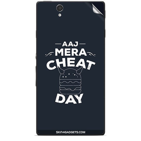 Aaj Mera Cheat Day For SONY XPERIA Z (L36h) Skin