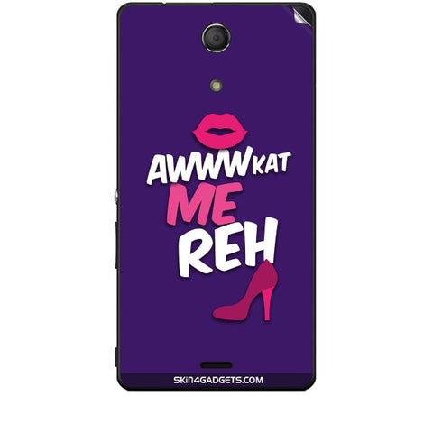 Awwkat me reh For SONY XPERIA ZR (M36H) Skin