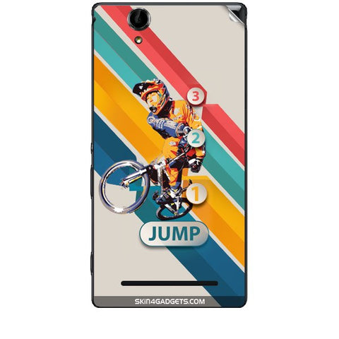 1 2 3 Jump For SONY XPERIA T2 ULTRA Skin