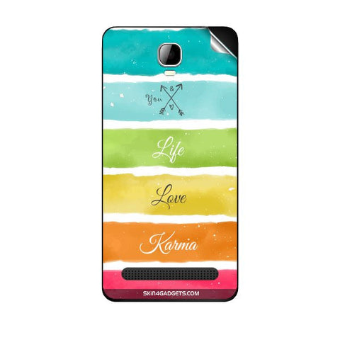 Lets Love Life For SPICE MI 506 STELLAR METTLE ICON Skin
