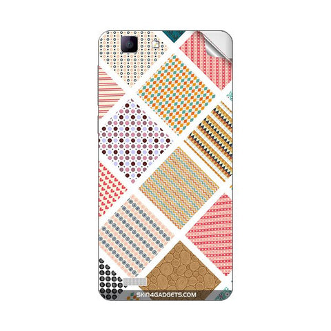 Varied Pattern For VIVO X3L Skin