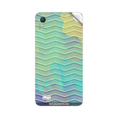 Colourful Waves For VIVO Y11 Skin