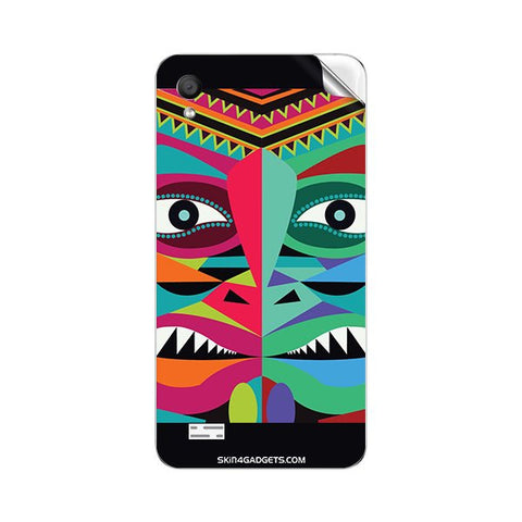 Tribal Face For VIVO Y11 Skin