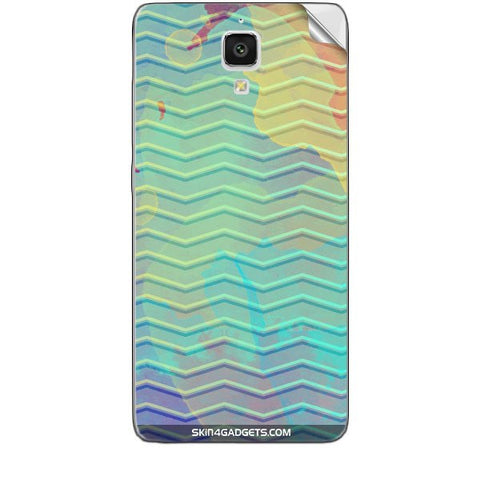 Colourful Waves For XIAOMI MI 4 Skin