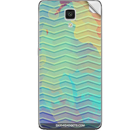 Colourful Waves For XIAOMI REDMI 1 Skin