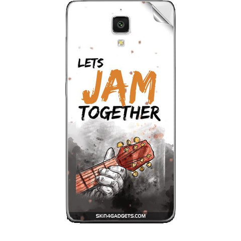 Lets Jam Together For XIAOMI REDMI 1 Skin