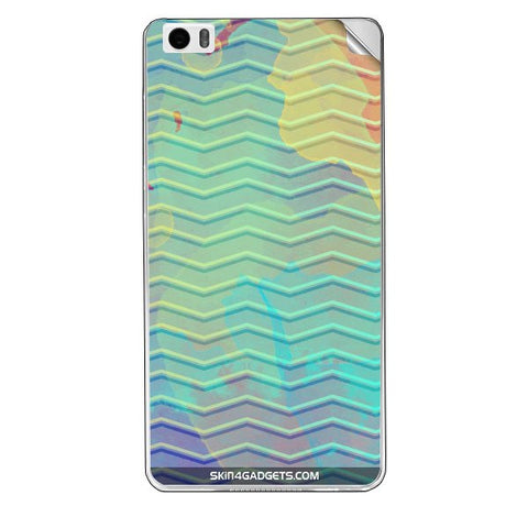 Colourful Waves For XIAOMI REDMI NOTE PRO Skin