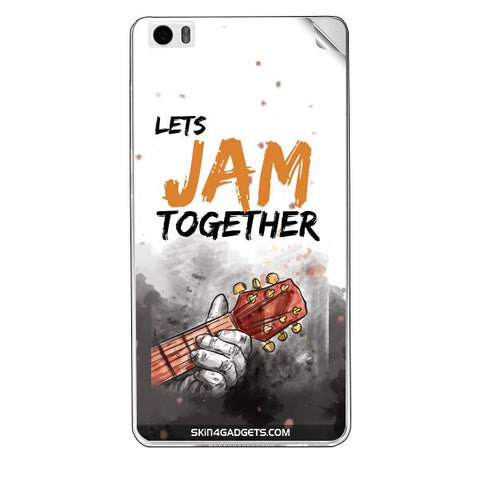Lets Jam Together For XIAOMI REDMI NOTE PRO Skin