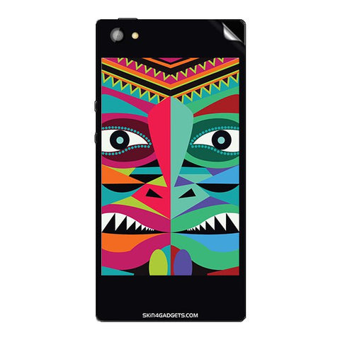 Tribal Face For XOLO CUBE 5.0 Skin
