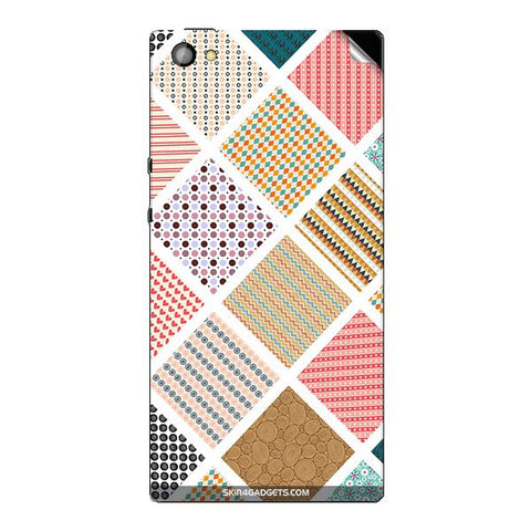 Varied Pattern For XOLO CUBE 5.0 Skin